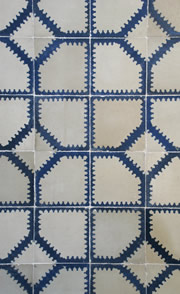 19th Century Spanish tiling